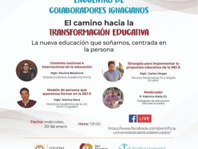 Camino a la transformación educativa